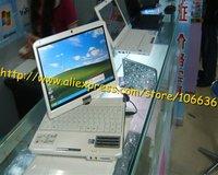 "Hot sale Christmas Gift Ultra Thin Notebook 10.2"" 1G /160G Laptop Mini PC Touch Screen Windows 7 / XP WIFI Russian Keyboard"