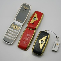 New mini minimum Bentley C19 sports car remote control keychain flip pocket phone exquisite luxury upscale