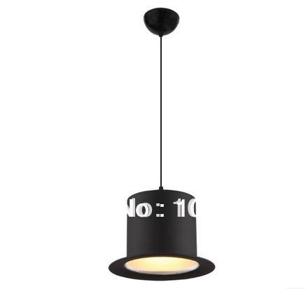 2014modern style hat lamps design 110v220v e27 Jeeves Wooster Top Hat pendant lights hat lights aluminum lampshade home lighting(China (Mainland))