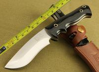New Brend Prototype 7Cr17 Steel 5.5MM Blade Micarta Handle Hunting Knife BD01