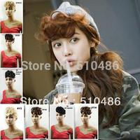 Best Selling1Pcs/Lot 2014 New Style Front Bang Hair Bang Clip In On Hair Bang Synthetic Hair Bangs Hair Fringe Women Gifts B4