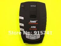 2012 New Arrival Auto Radar Detector Alarm GPS Edog Navigator Conqueror Radar Eye Car Sensor road A98