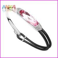 Pulseira Pulseiras Femininas Free Shipping Crystal Charm Cord Bracelet Make With Austria Elements High Quality Jewelry #92883