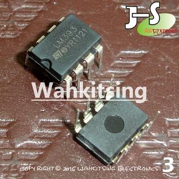 100 PCS LM393N DIP-8 LM393 Low Power Dual Voltage Comparators
