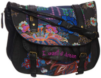 2013 NEW DESIGUAL bag Flower CARTNNEY Handbag/Shoulder Bag/Purse&NEW ARRIVAL&Freeship