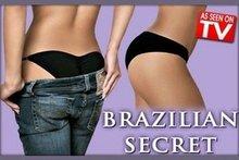 Free shipping Brazilian Secret As Seen On TV Secret sexy Lingerier Underwear Padded Panty Beautify Buttocks(China (Mainland))