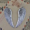 Min order is $10 ( mix order ) Vintage jewelry tibetan silver alloy angel wing drop earring E401