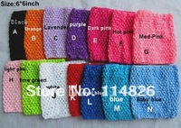 free shipping 14pcs/lot crochet tube tutu top