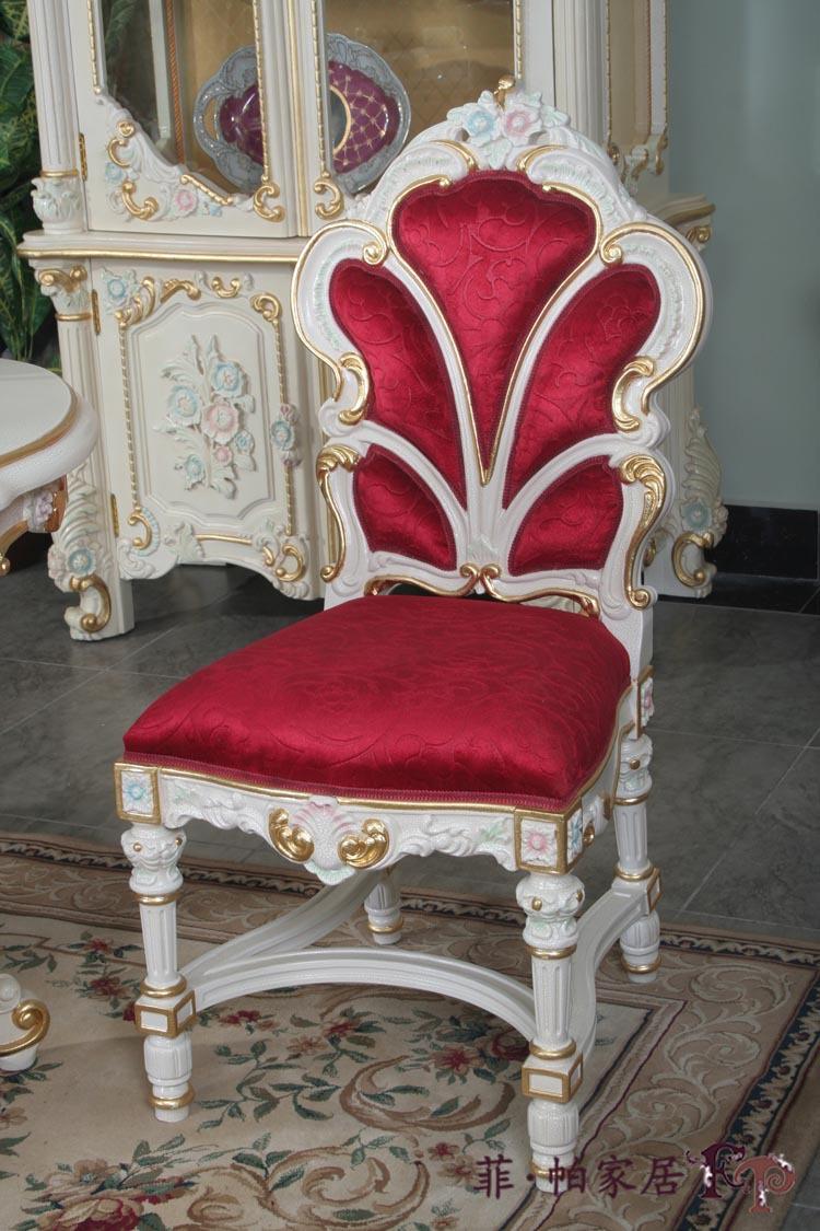 Klassieke franse antieke eetkamer meubelen- eetkamerstoel gratis ...