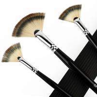 3 pcs nylon hair paint brush oil paint brush art supplies promotion product  free shipping