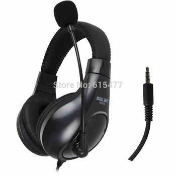 Free shipping Salar a566 earphone headset computer voice  PC Subwoofer headset Headphones bass headphon