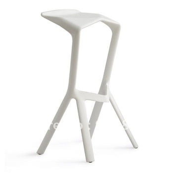 1Piece + Bar /Club Stool + Hot Sale + Home Furniture +Color (White,Black) +Miuru Chair