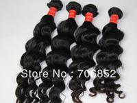 peruvian hair unprocessed virgin remy aaaa extension natural color deep wave weaving hair mix lengths 12 14 16 18 20 22 24 26 28