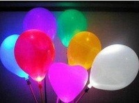 Free shipping!100pc/lot led balloon, flashing balloon, lighting balloon,wholesale+retailer+dropping sale -Lucy store
