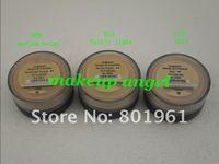 48pcs  Bare Minerals original Fair / fairly light / medium beige Foundation SPF 15 Sunscreen 8g / 0.28oz  3 colors choose