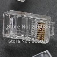 RJ45 AMP Non-shielding High Performance Crimp Plugs (50PCS) Free shipping