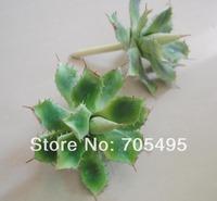 Free Shipping 6pcs/lot 12cm DIY Artificial Plant Star Cactus Bare Stem Picks