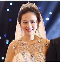 2014 summer new arrival wedding Bride shoulder chain necklace jewelry full rhinestone luxury bling bing wedding jewelry