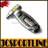 Free shipping 4 in 1 Multifunctional Digital LCD Car Tire Gauge Tire Pressure Gauge Car Emergency Hammer and Emergency light