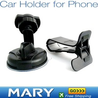 Free Shipping 3PCS/LOT Car Universal Holder Mount Stand for iphone 4G/mobile phone/PSP/PAD/MP4