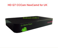 DVB hd Cable TV receiver with conax CAS sharing network  cccam newcamd digital PVR receiver made in shenzhen  2pcs/lot