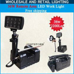 Unique design portablely working light, free shipping! 367W 2200Lm 4.5hours working time, remote area repairing led work light(China (Mainland))