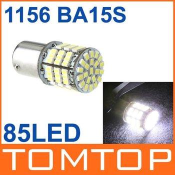 Free shipping 10pcs/lot 1156 BA15S 85 1206 SMD LED White Turn Tail Reverse Backup Light Bulb Lamp Wholesale