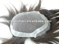 6&quot; ,   indian remy human hair  swiss lace toupee