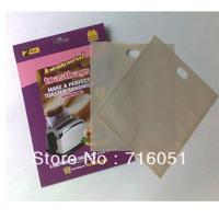 Free shipping PTFE Reusable Toaster Bag  2pieces/bag