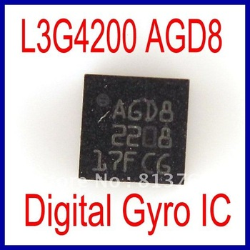 Original Three Axis Digital Gyroscope IC L3G4200DTR L3G4200 AGD8 Replacement For iPhone 4 Logic Board Motherboard
