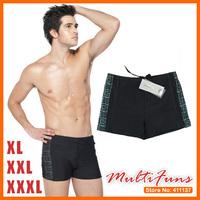 Male boxer swimming trunk men's swimwear Great Wall Pattern Men swimwear XL XXL XXXL Free Shipping Retail