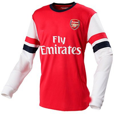 soccer jersey Premier League Arsenal home jerseys long sleeve for new season football clothes long sleeve Top thailand qualtiy(China (Mainland))