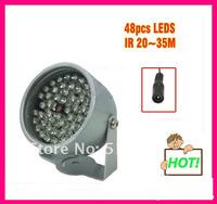 Promotion CCTV LED illuminator Light IR Infrared Night Vision For Video Surveillance Camera,2pcs/Lot ,