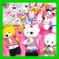 SMILE MARKET Free Shipping  5pieces/lot Plush half cartoon children scarf  novelty children's Scarf