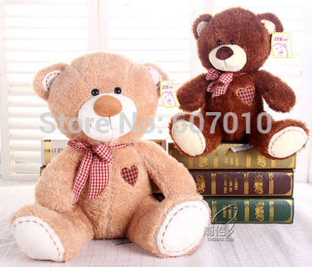 Retail 30CM high-quality Man's friend TED bear Christmas gift Stuffed plush toy