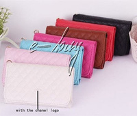 Luxury Soft sheep wallet  leather case for iphone 4 4s 5G For iphone 4s leather case luxury bag  with retail