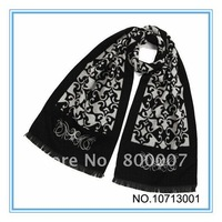 Christmas Gift  For Men 190cm*35cm scarves 1pcs  4colors  Soft  And Warm  Men scarf