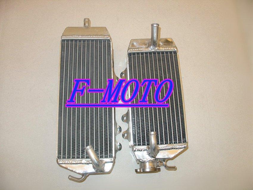 Fit for KAWASAKI KXF250 2006-2008 Aluminum dirt bike radiator KXF 250 KX250F 06 07 08(China (Mainland))