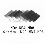 6pcs ND2 ND4 ND8 + Gradual ND2 ND4 ND8 filter set f cokin p