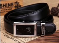 Plover 2012 cowhide male belt fashion automatic buckle genuine leather strap