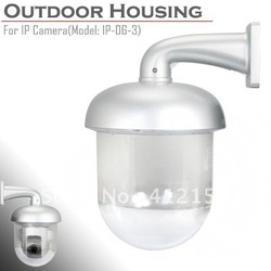 Outdoor Dome Housing Enclosure for IP Pan Tilt Dome Camera Shield Waterproof Case Camera Protection(China (Mainland))