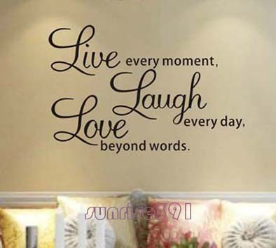 High Quality Decorative Wall Sayings Promotion-Shop for High ...