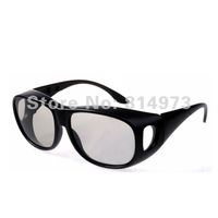 Cheap Circular Polarized Passive 3D Glasses for Short Sight Person watching Real D 3D 4D Cinemas and Passive 3D TV Free Shipping