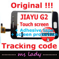 JIAYU G2 Original touch panel 100% new glass touchscreen JY-G2 JY/G2 free shipping HK airmail + tracking code