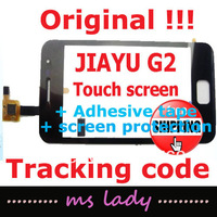 JIAYU G2 Original touch panel 100% new glass touchscreen JY-G2 JY/G2 free shipping  airmail + tracking code