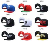 Unkut Snapbacks red blue hot sell snapback hat free shipping custom cap mix order wholesale snapback hat