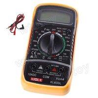Back Bright Digital Voltmeter Ohm Ohmmeter Ampmeter Multimeter Tester XL830L