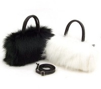 2013 fashion women handbag new faux fur bag mini Girl's handbags Clutch bags party handling