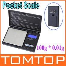 100g * 0.01g Mini LCD Digital Pocket Jewelry Gold Diamond Scale Gram , Freeshipping Dropshipping wholesale(China (Mainland))