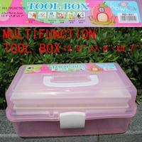 Retail big size High quality multifunction tool box 3 Layers ABS Nail Art Tool Case Storage Box Organizer free shipping